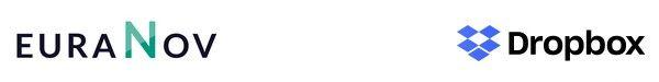 Logo euraNov et Dropbox