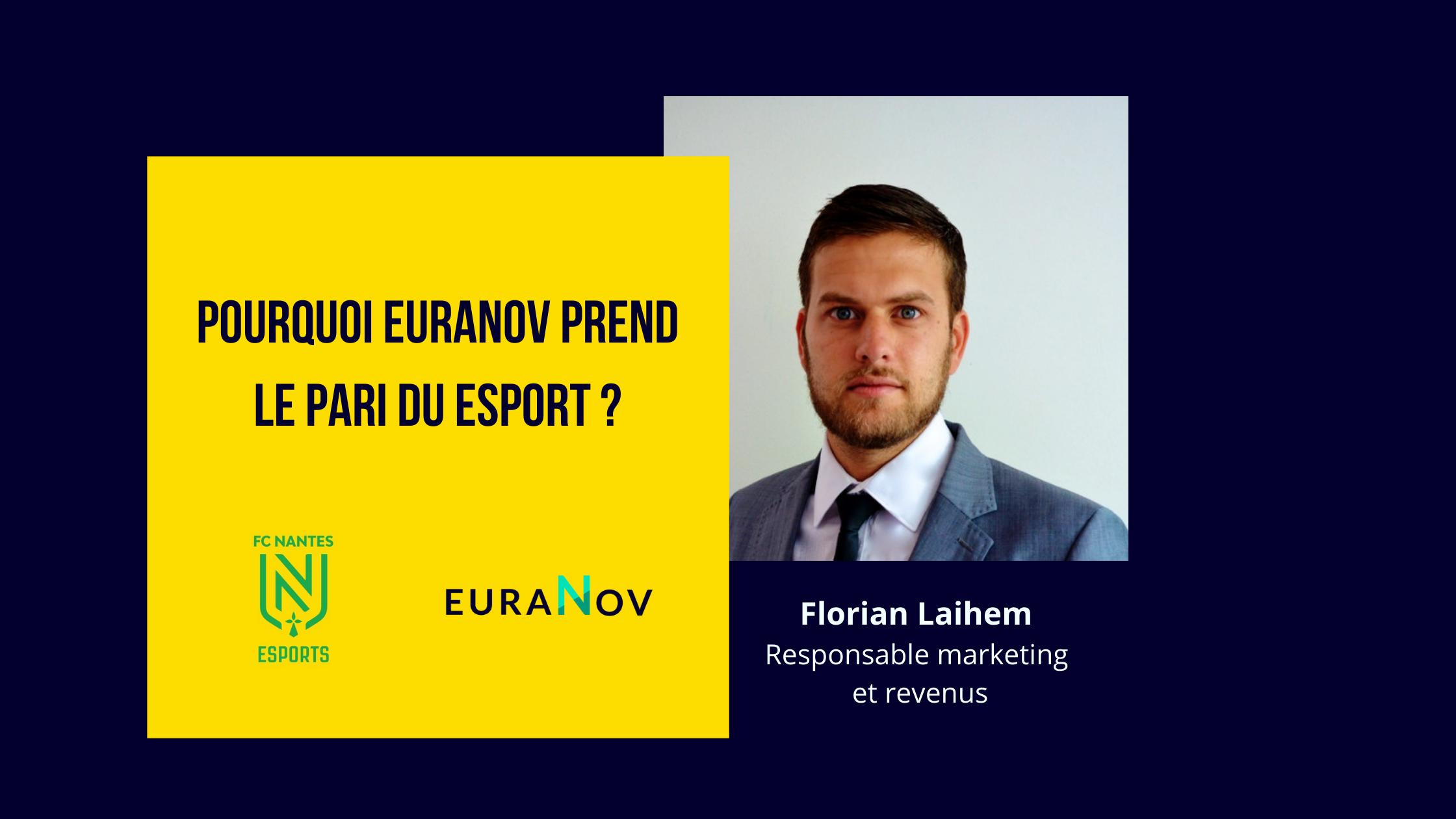 Le pari du esport chez euranov