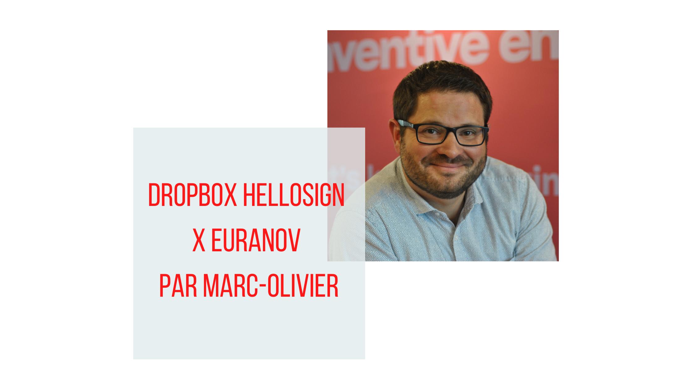 Dropbox, HelloSign X euraNov