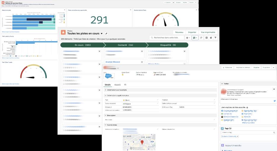 Salesforce, outils, CRM, gestion de relation client