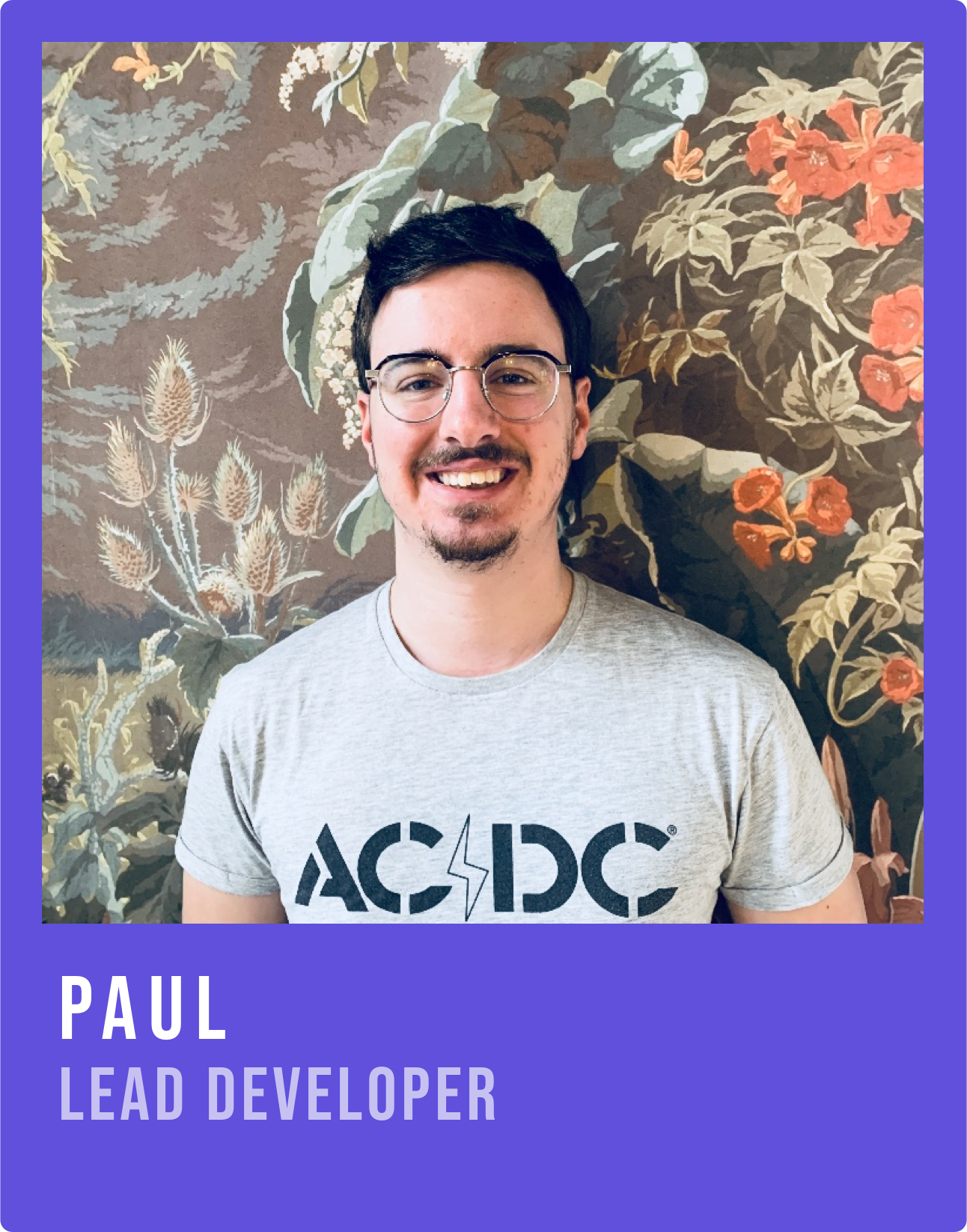 Image Paul lead developer